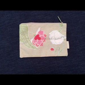 NEW! L'Occitane Water-Proof Canvas Cosmetics Bag